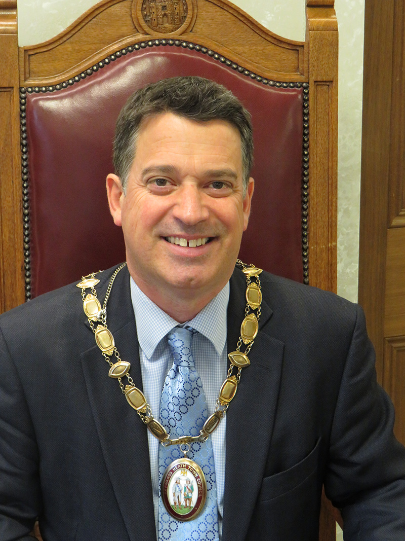 town mayor mcPherson